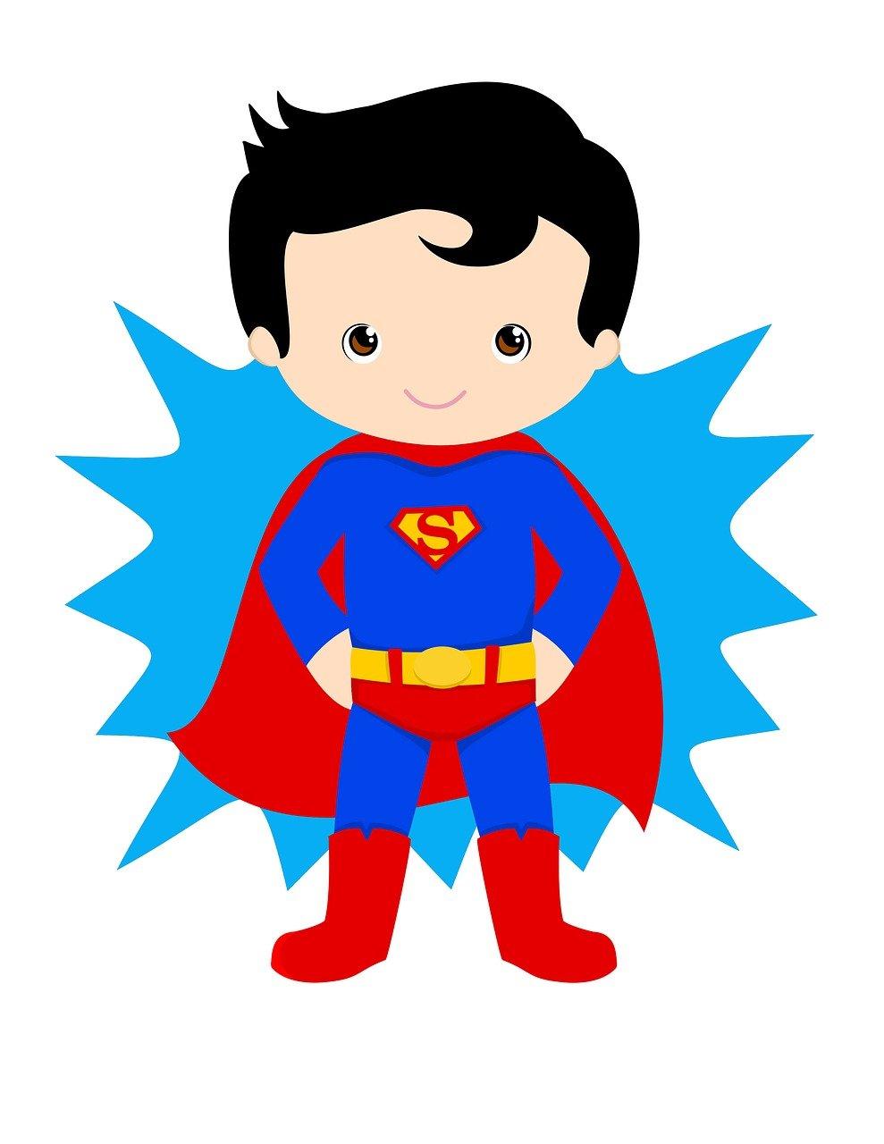 superman, kid hero, superhero